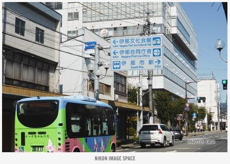 伊那市駅前(TZ406171) posted by (C)うら