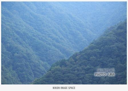 三峰の山々(XXX) posted by (C)うら